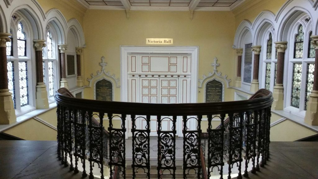 Vic Hall Staircase